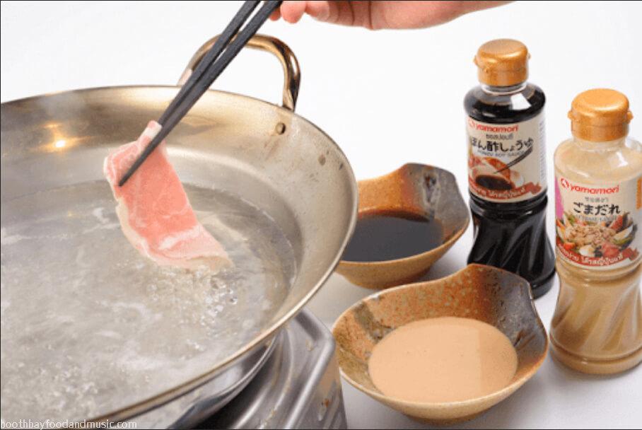 น้ำจิ้มชาบู